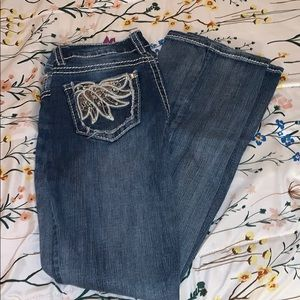 Bedazzled Bootcut Jeans